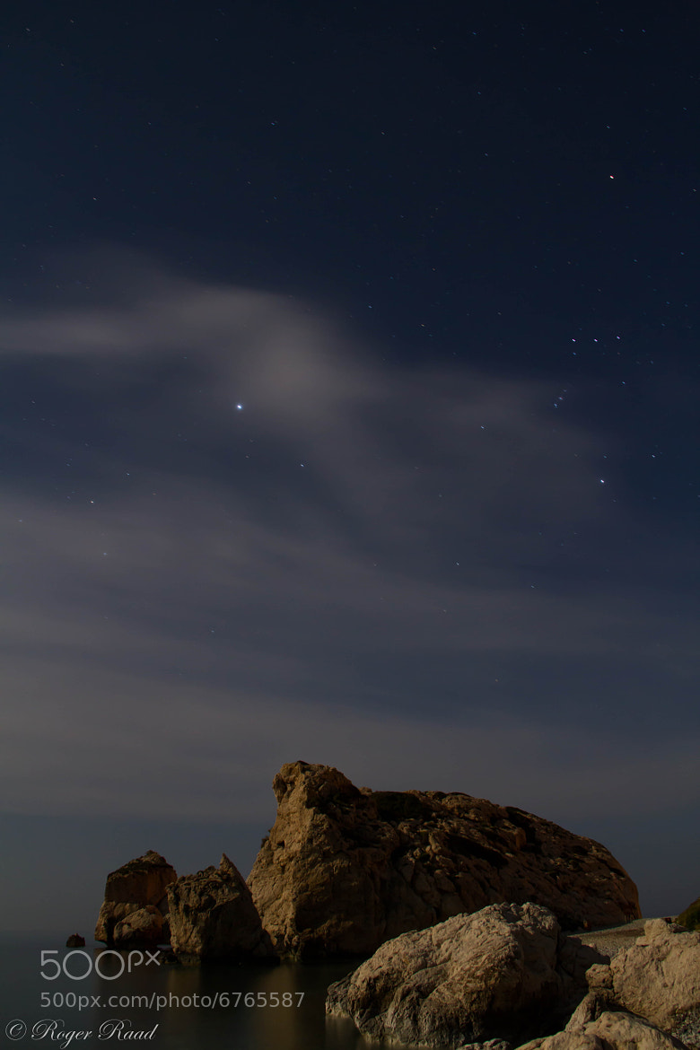 Photograph Rock Under The StarLight by Roger Raad on 500px