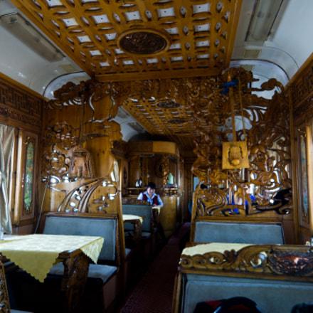 Mongolian dining car