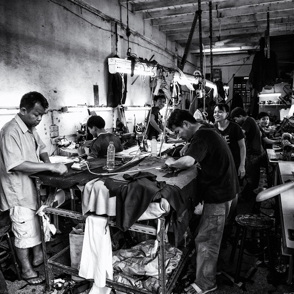Photograph The Suit Factory by André Malenfant on 500px