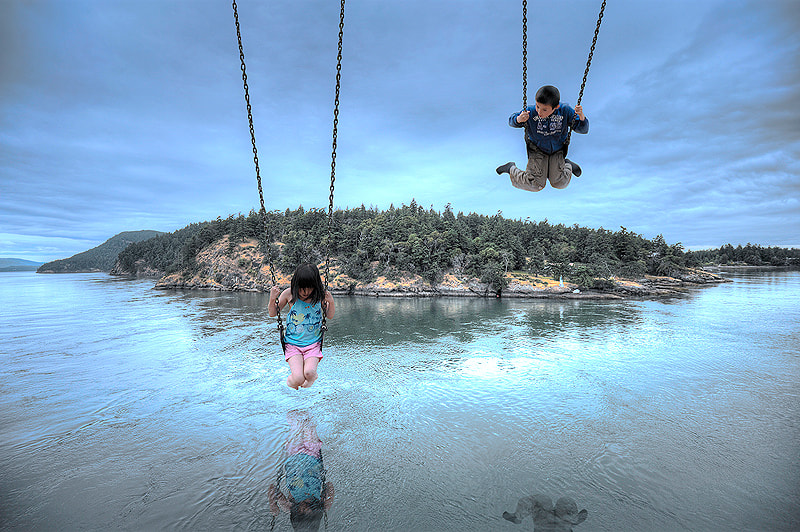 Photograph Swing Island by Fang Tong on 500px
