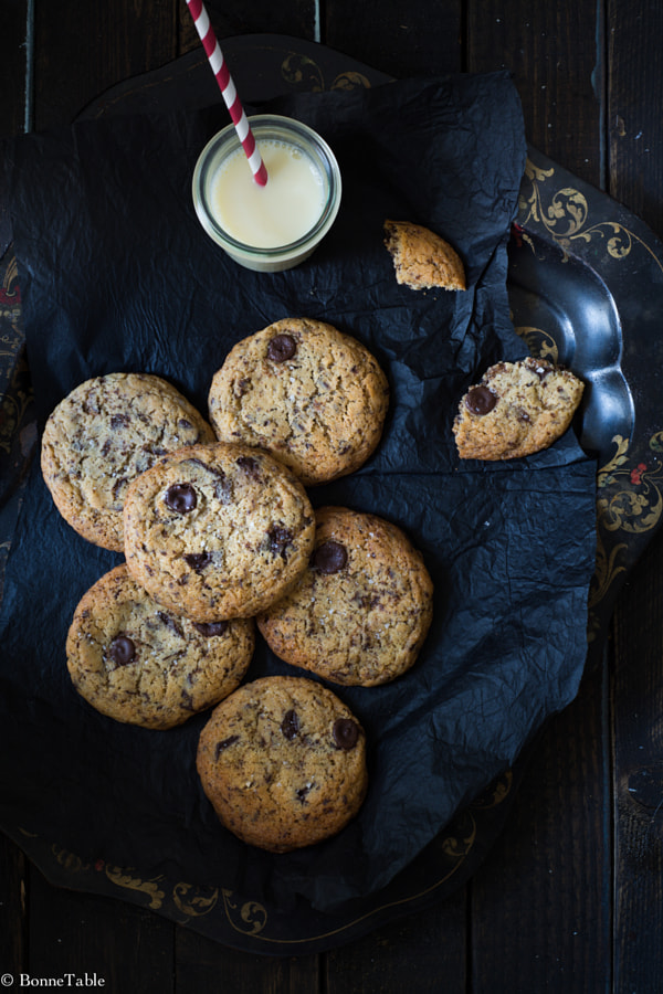 Photograph Chocolate cookies by Julie Longet on 500px
