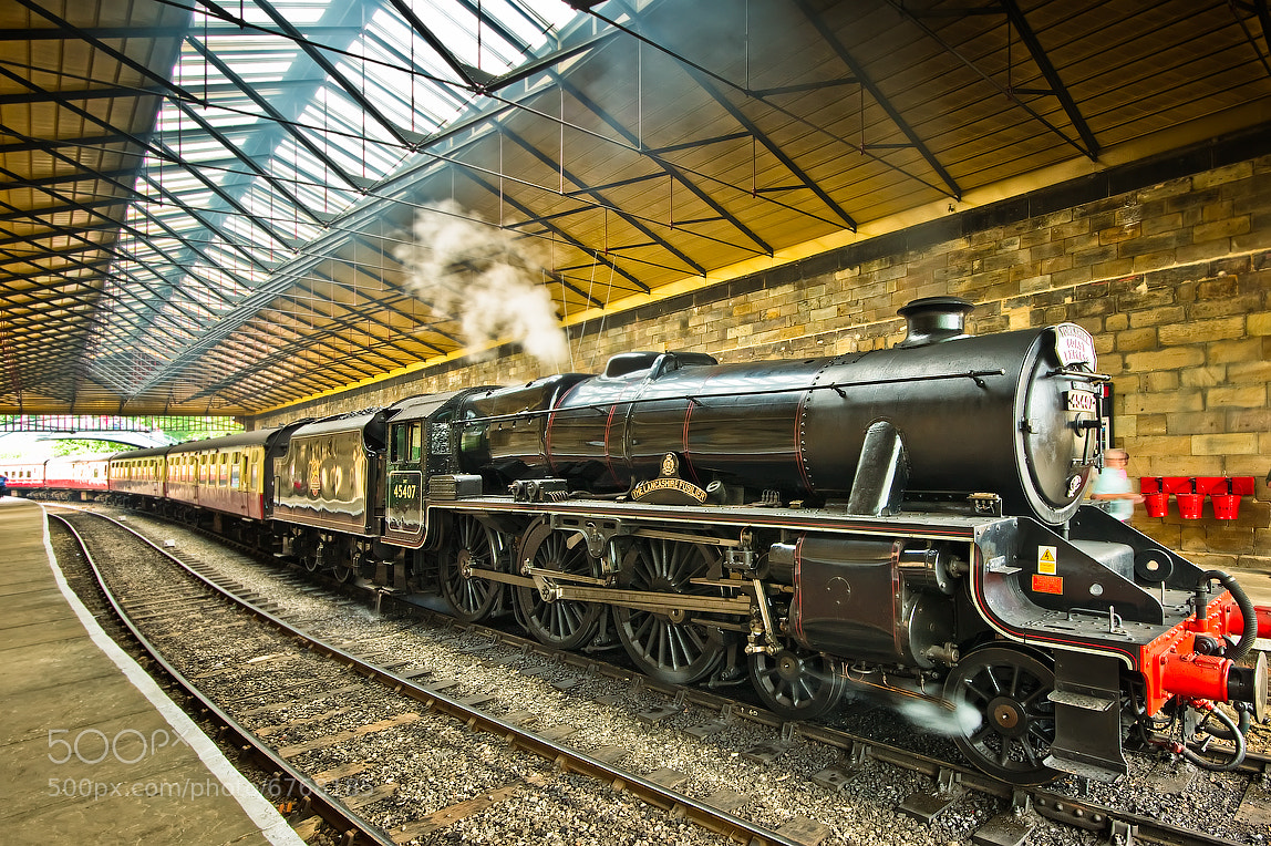 Photograph Steamin' In by Neil Cherry on 500px