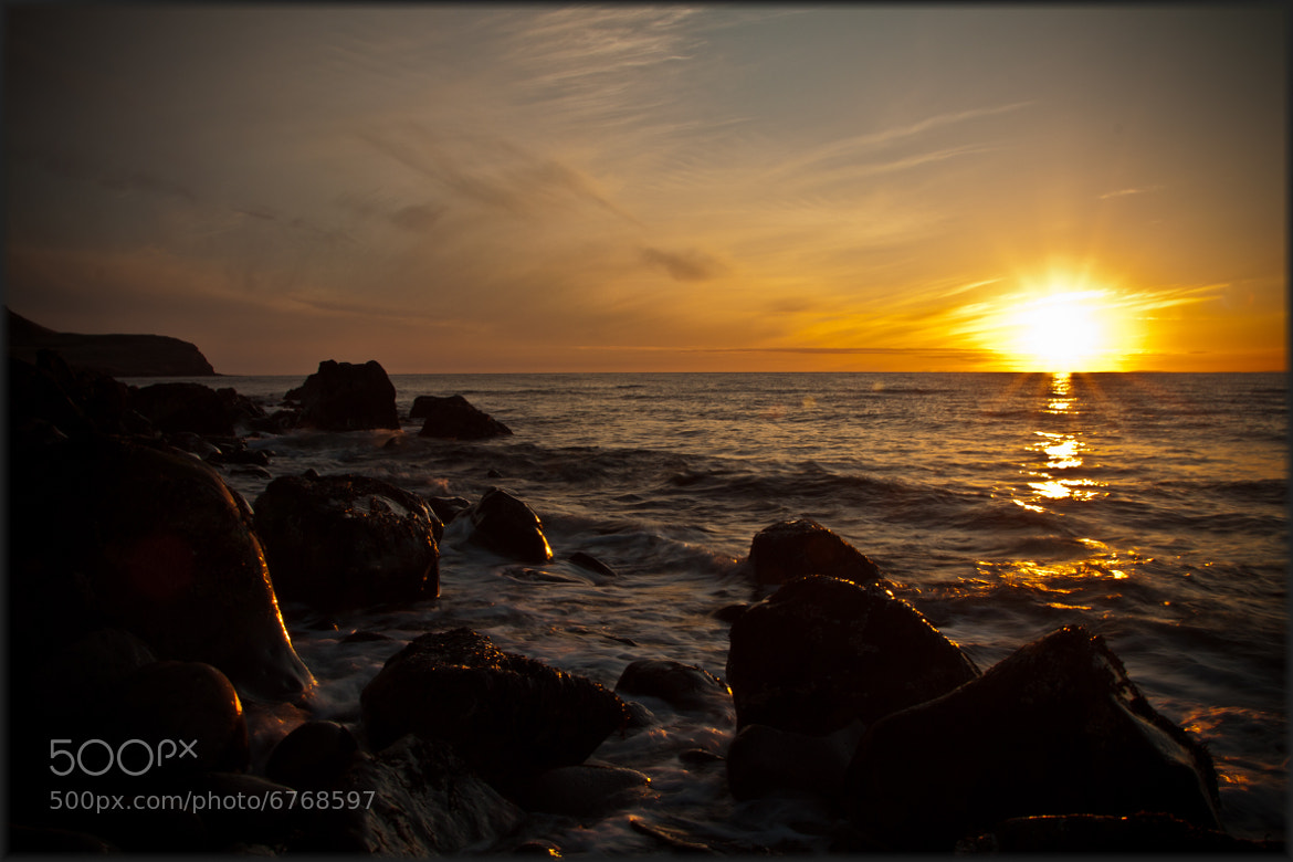 Photograph Afternoon sunset by Guðmundur Einisson  on 500px