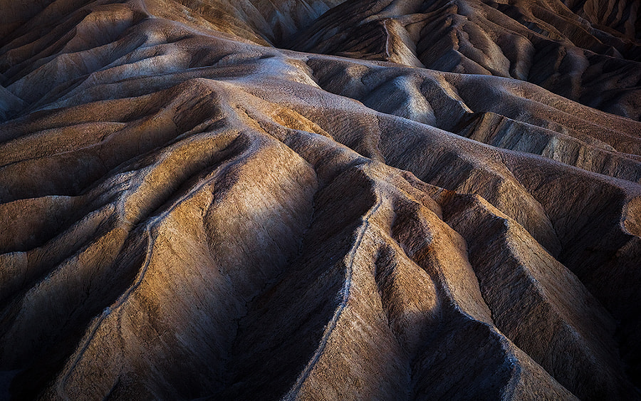 California | Blue Hour At Zabriskie Point by Hardy Höfer on 500px.com