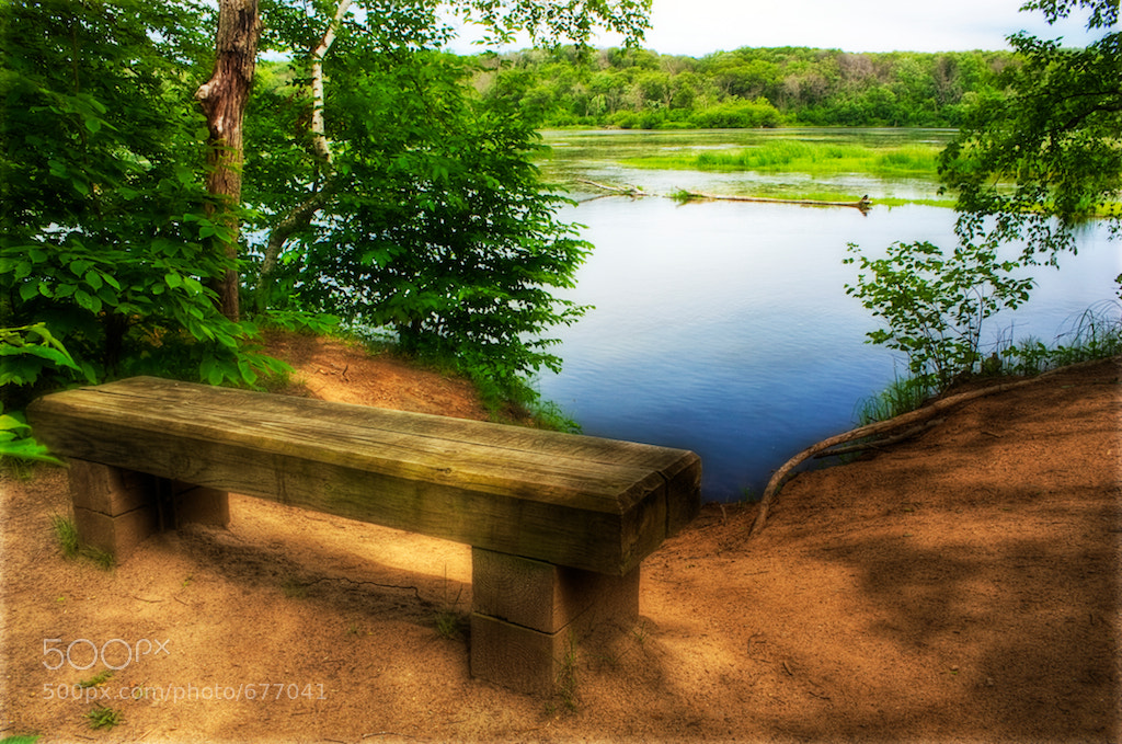 Photograph End of The Bench by Jim Denham on 500px