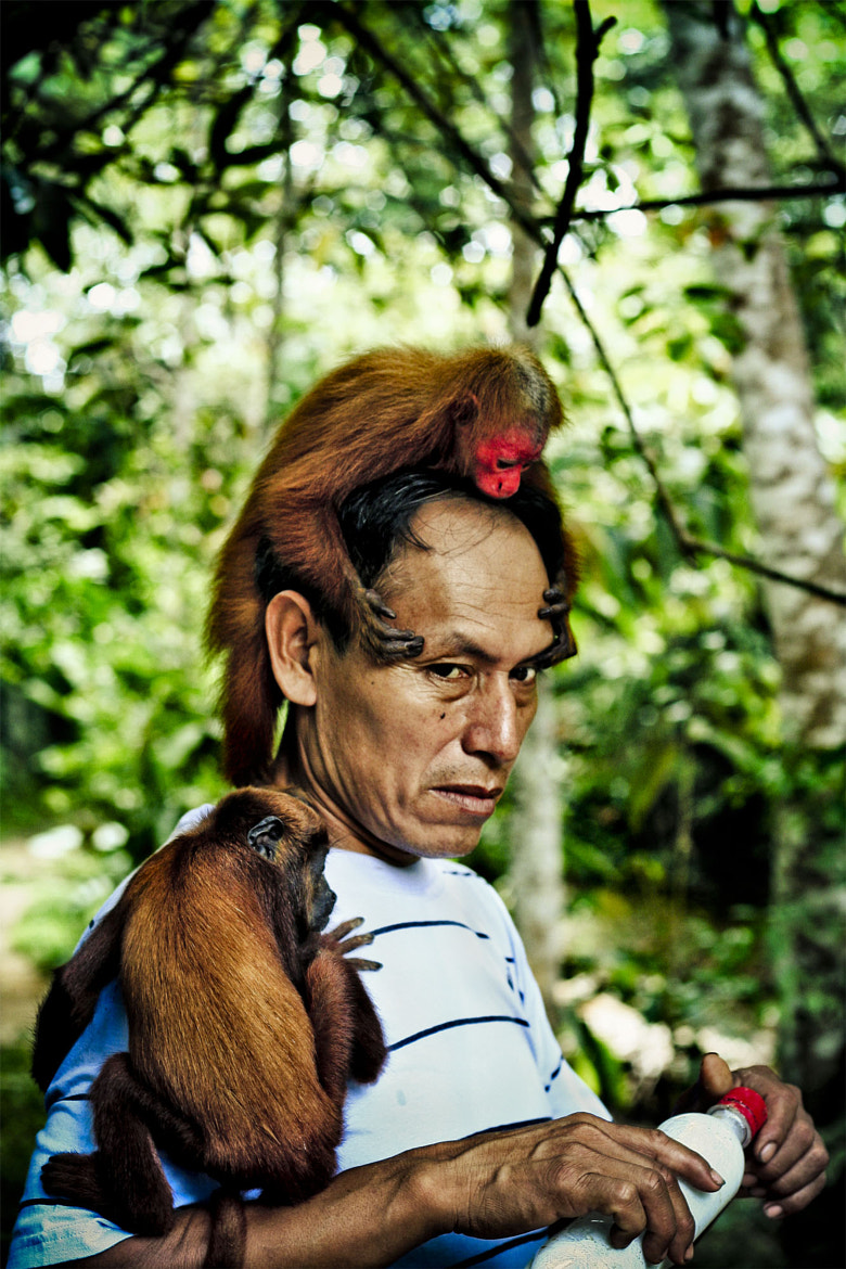 Photograph monkey man by ber g on 500px