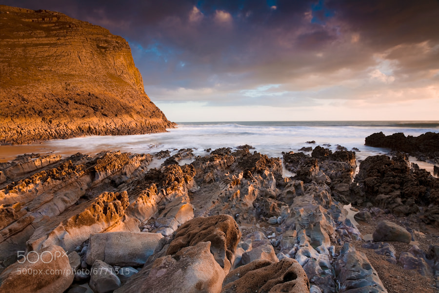 Photograph Thurba Head, Mewslade Bay by Edward Fury on 500px