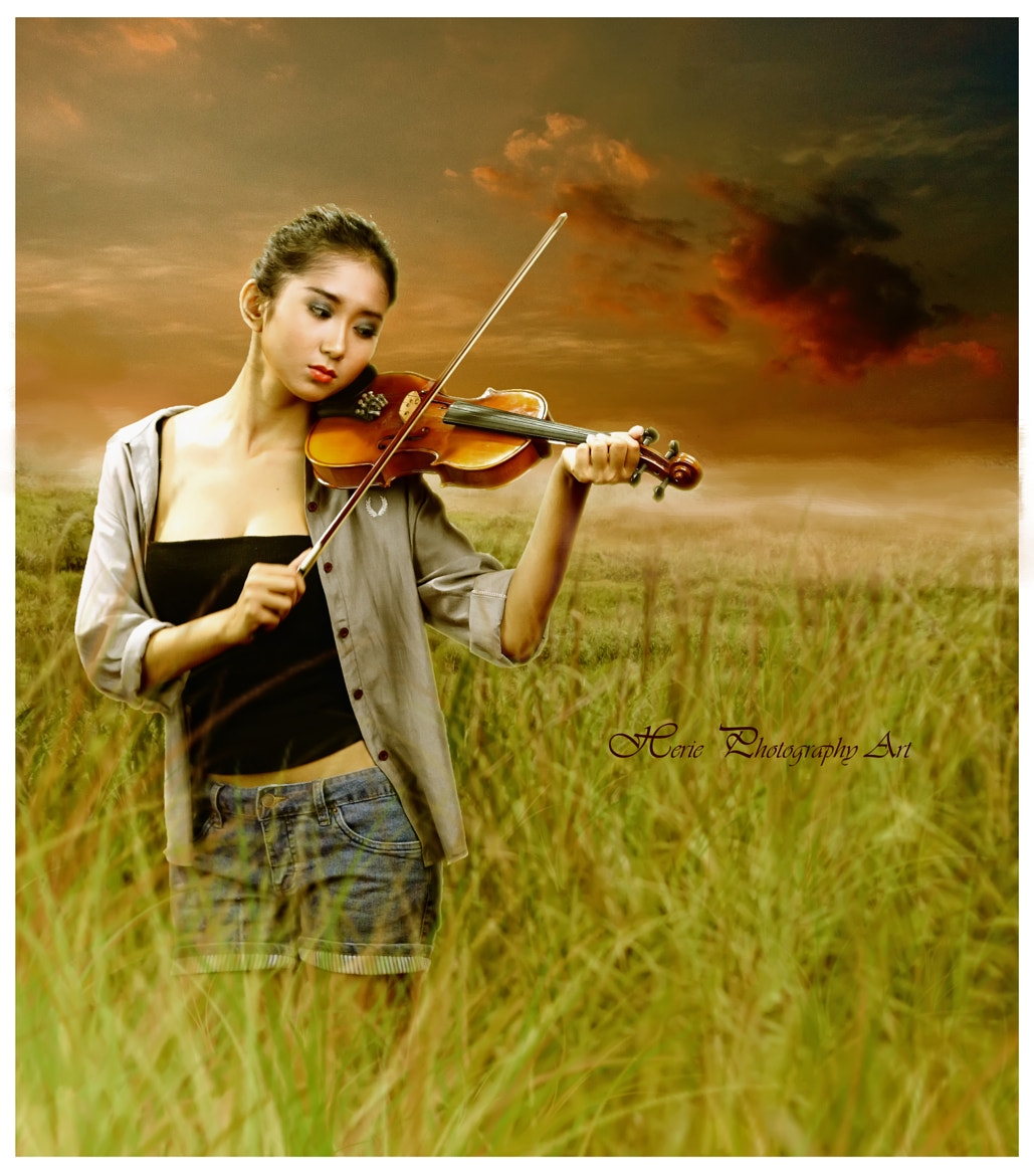 Photograph Violin Girl by R Ramdhan on 500px