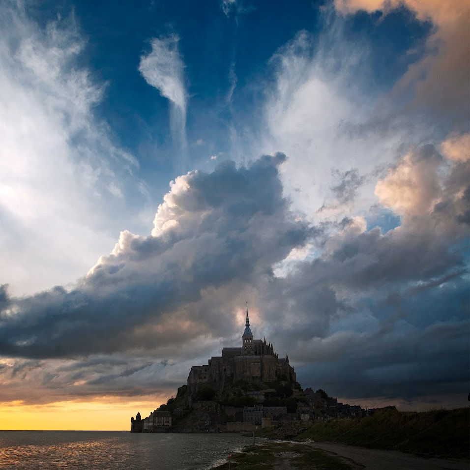 Photograph mont st michel by Andy Lee on 500px