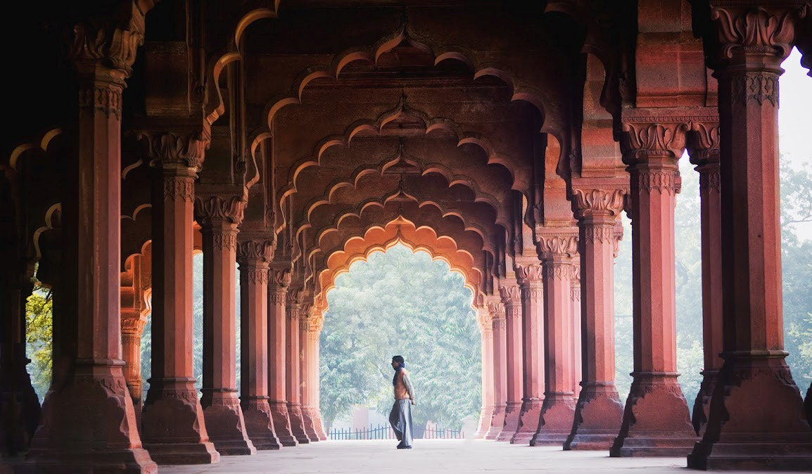 Photograph Diwan i Aam, Red Fort India by Andy Lee on 500px