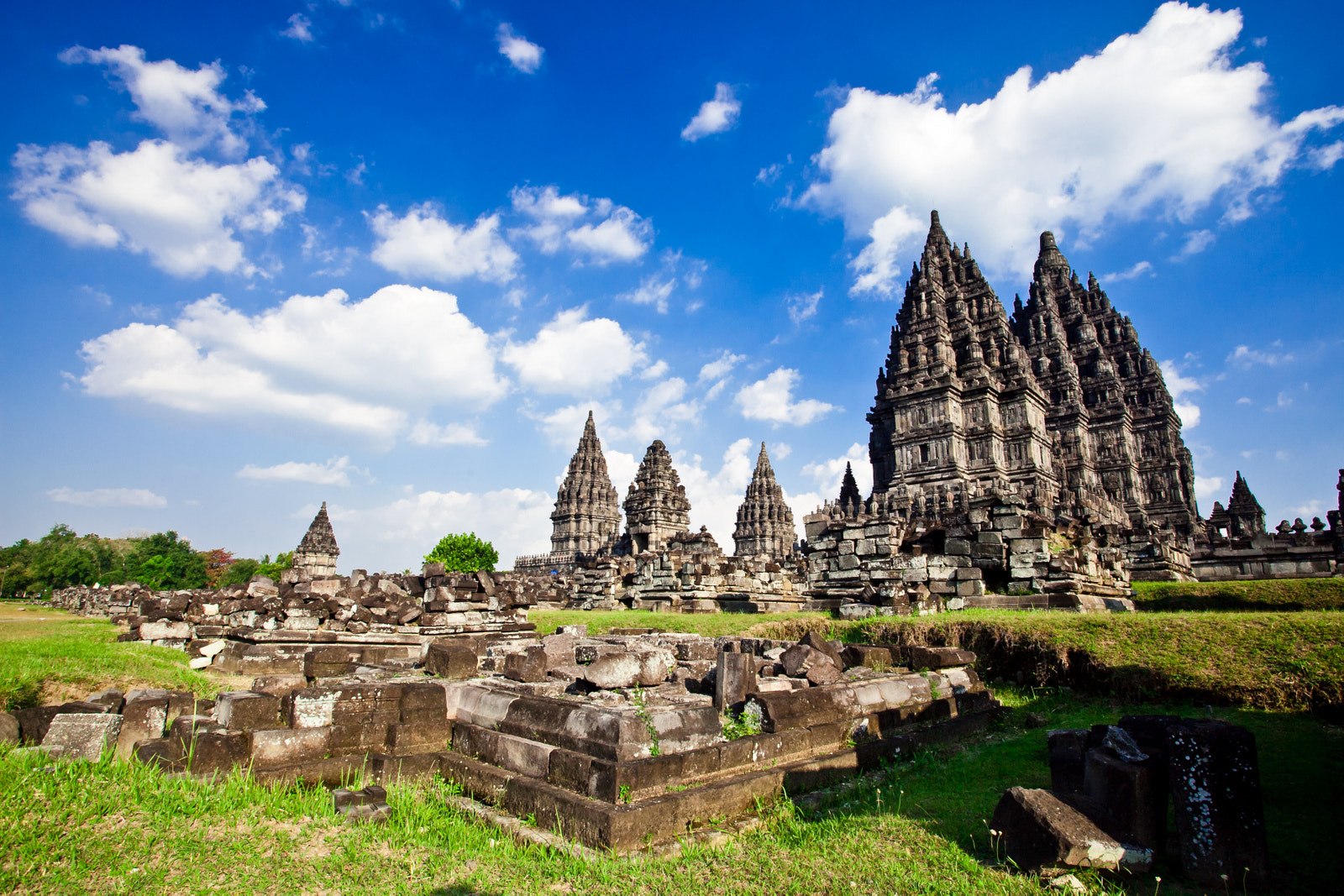 Photograph Prambanan in the afternoon by Ping Chen on 500px