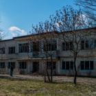 Постер, плакат: Old school in Chernobyl