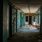 Постер, плакат: Abandoned buildings of Pripyat