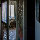 Постер, плакат: Abandoned house in Pripyat Chernobyl