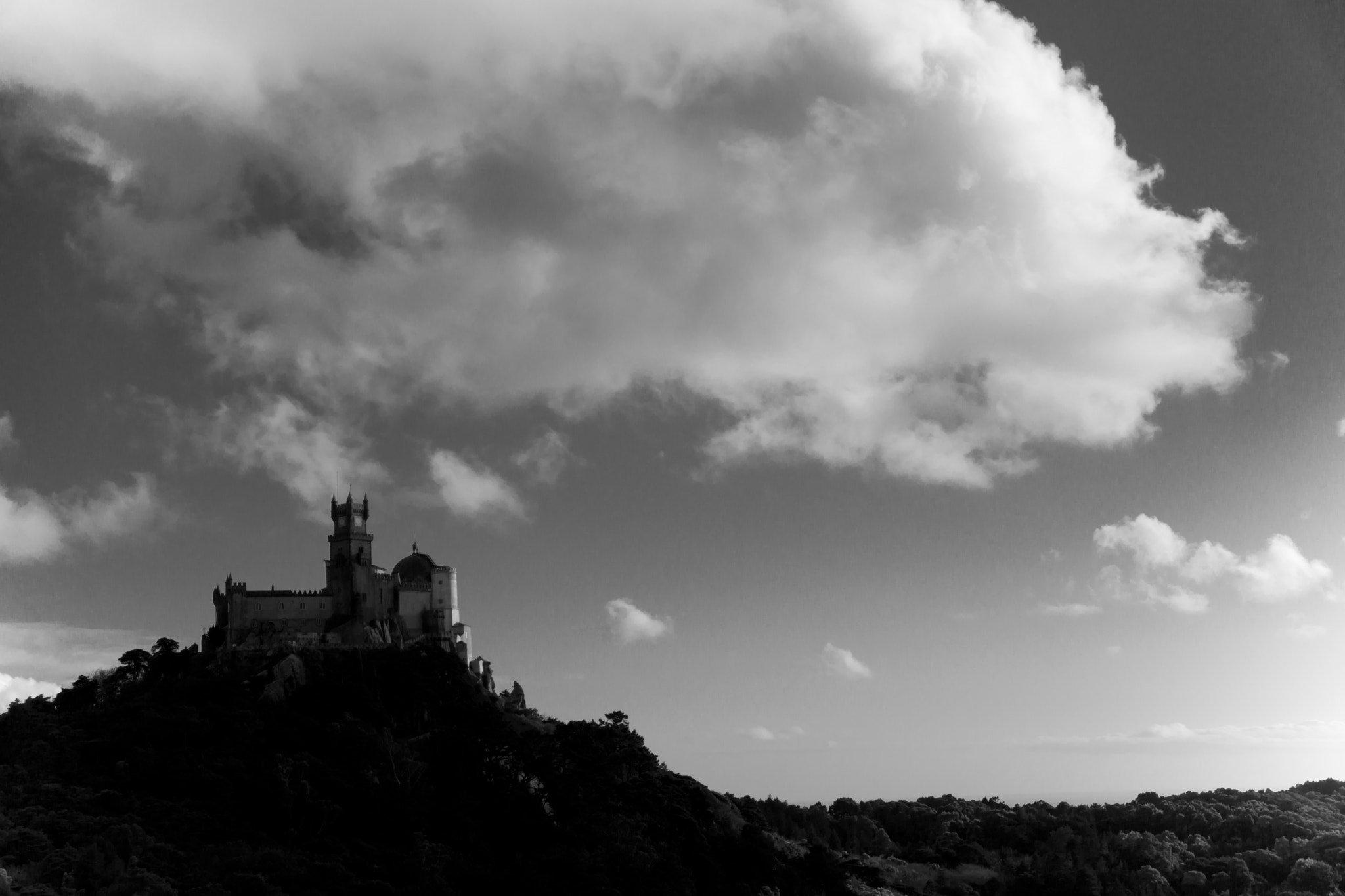 Photograph Pena Palace by Chin Yong on 500px
