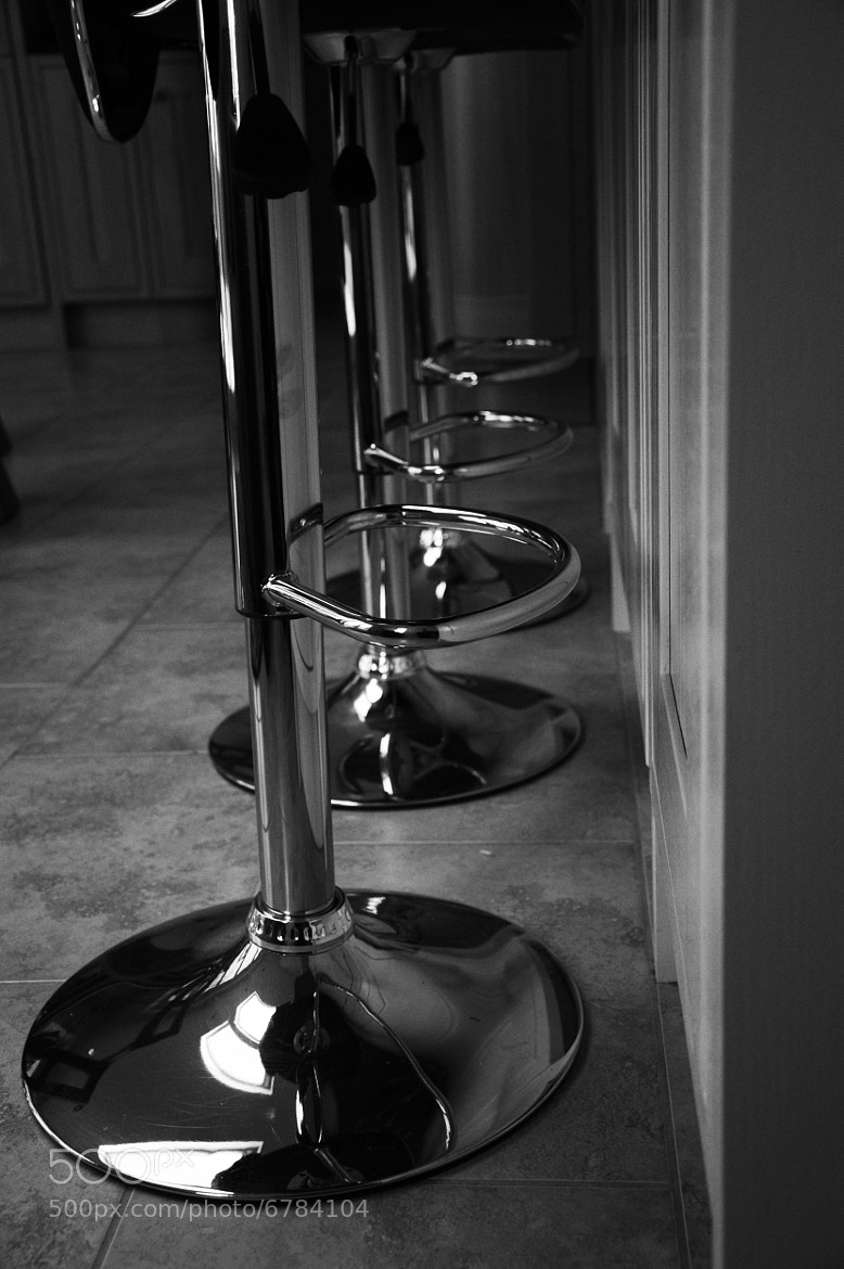 Photograph Black and White Stools by Adam Jones on 500px