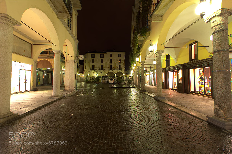 Photograph Novara, verso Piazza delle Erbe ... by Andrea Cannaos on 500px