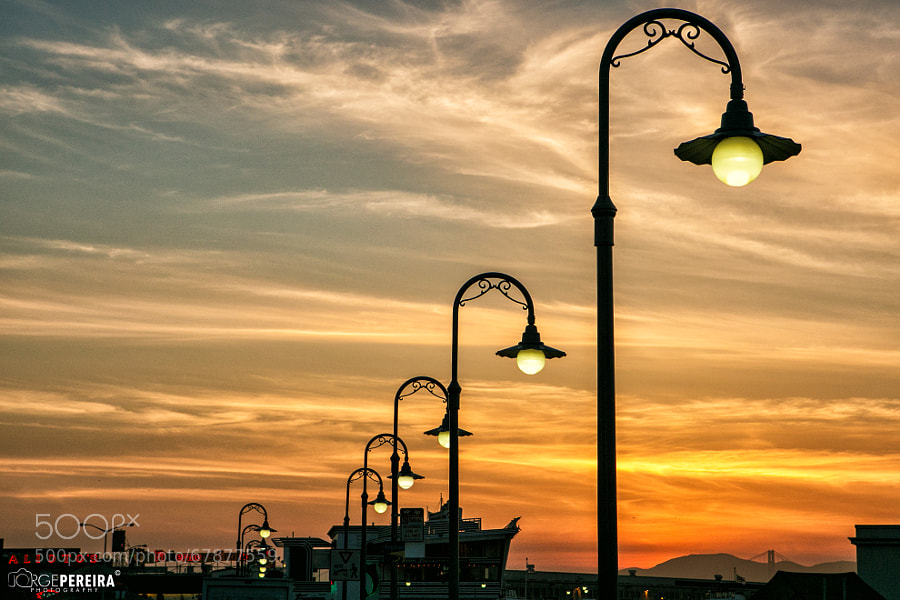 Photograph Sunset at Pier 39 by Jorge Pereira Eric Janssen on 500px