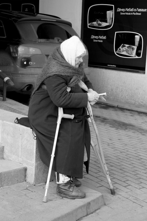 Photograph Grandma, Begging Money by Dmitry Veleskevich on 500px