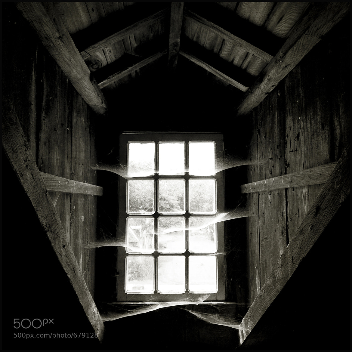 Photograph Attic Window by Christophe Regnaud on 500px