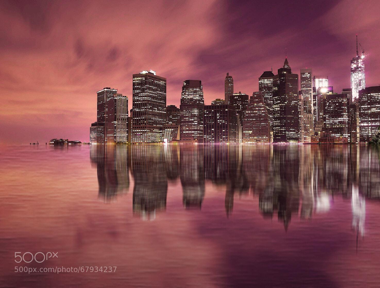 Photograph Manhattan - Reflection by Krzysiek Rabiej on 500px