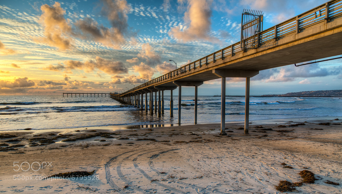 Photograph Ocean Beach Sunset by Justin Brown on 500px