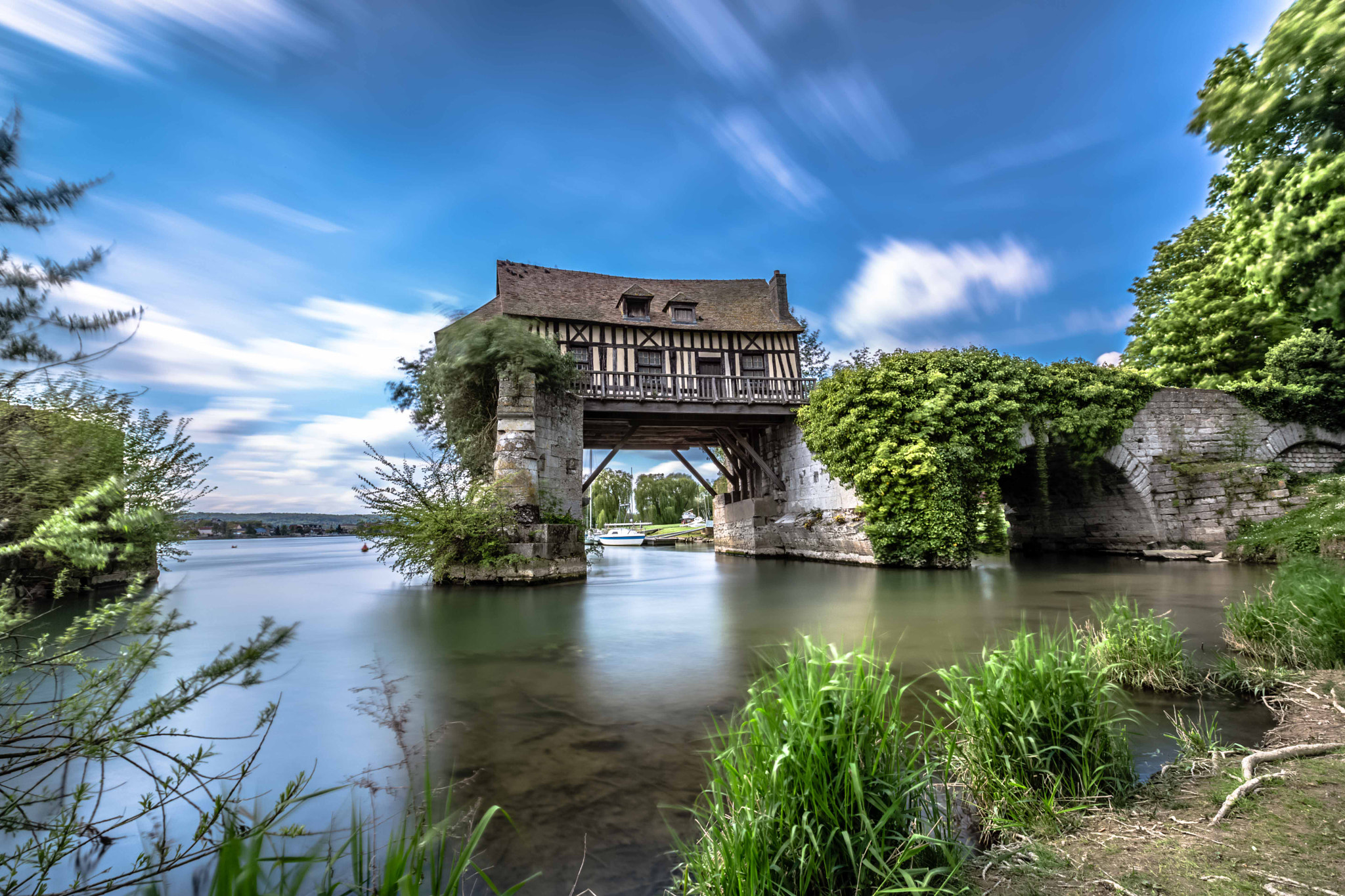 Photograph The old mill, Vernon, Normandy by Europe Trotter on 500px