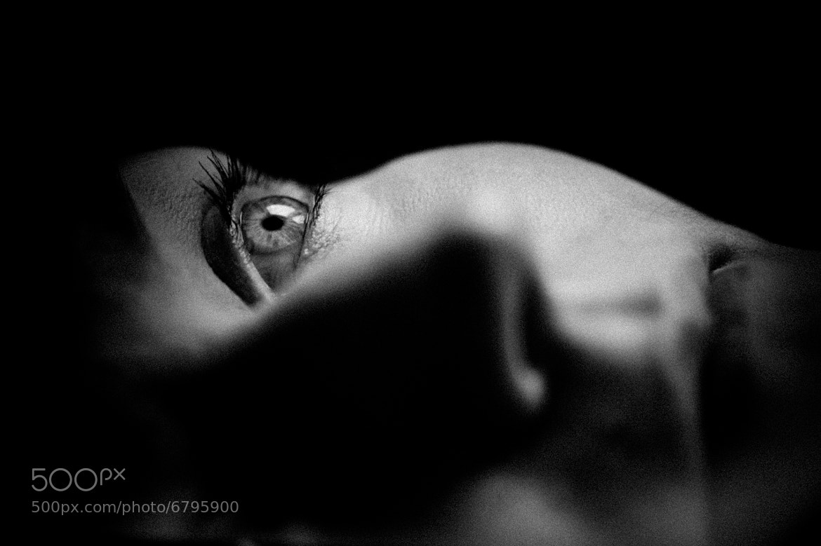Photograph TOO SCARED TO CLOSE MY EYES by Conny Hilker on 500px