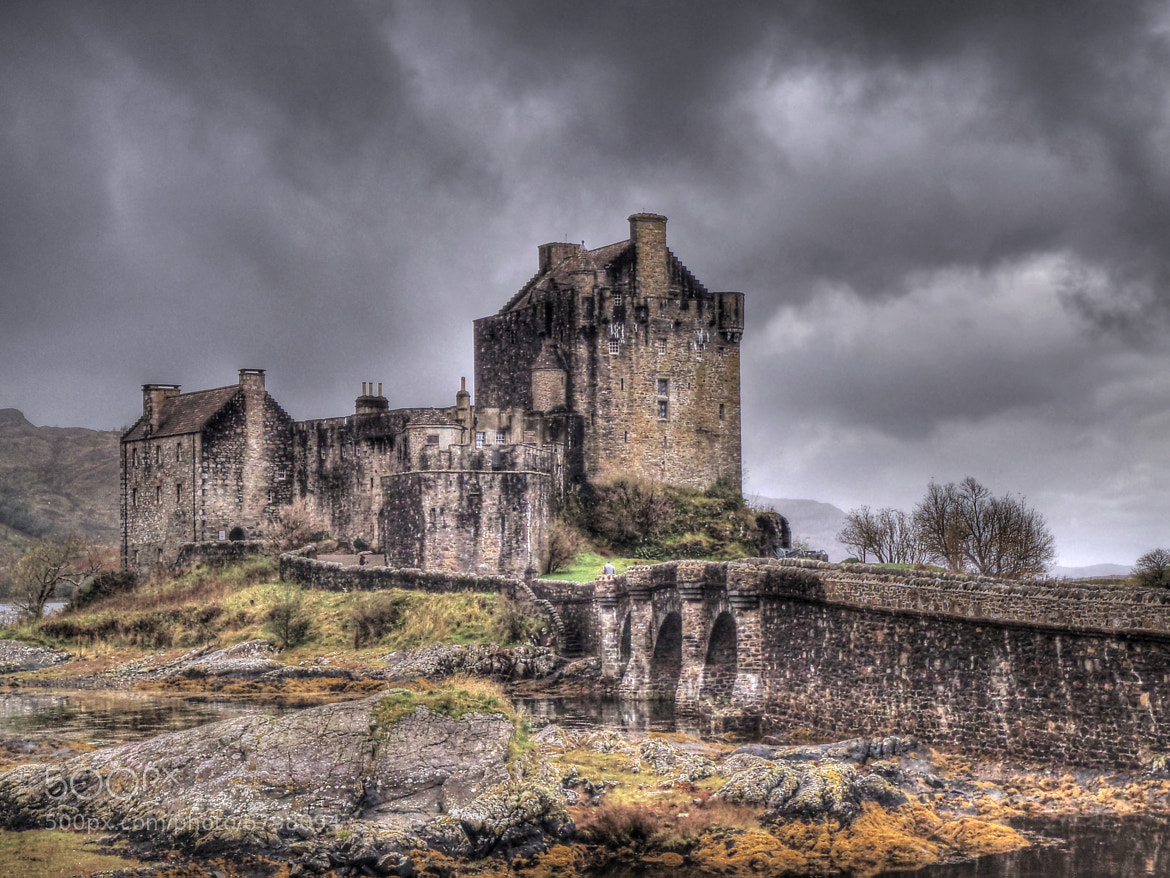 Photograph Eilean Donan Castle by Antonio López on 500px