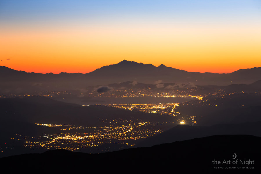 Wellington Twilight From The Tararua Ranges by Mark Gee on 500px.com