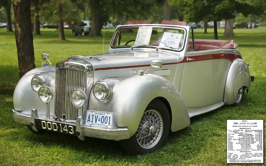 1953 Alvis T.C.21/100