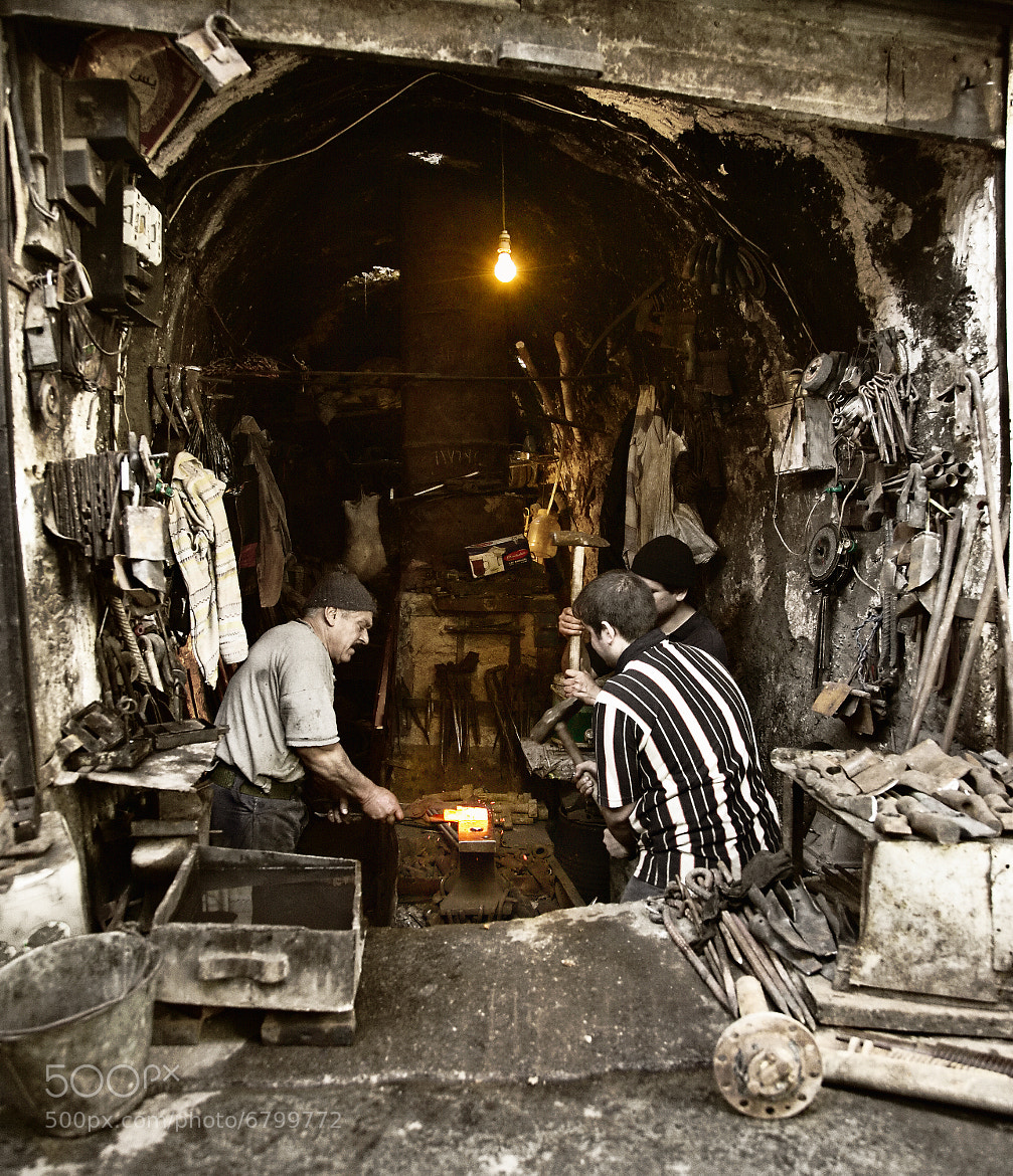 Photograph The Last Blacksmith of Old Nineveh. by Saad Salem on 500px