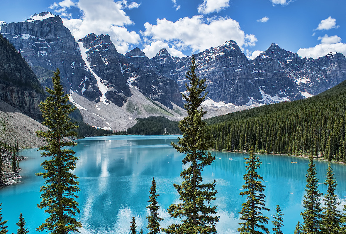 Photograph Valley of the Ten Peaks by Karl Lindsay on 500px