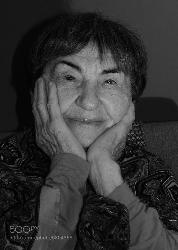 Photograph Holocaust survivors portraits: Dora Sterenberg by Amit Bahat on 500px