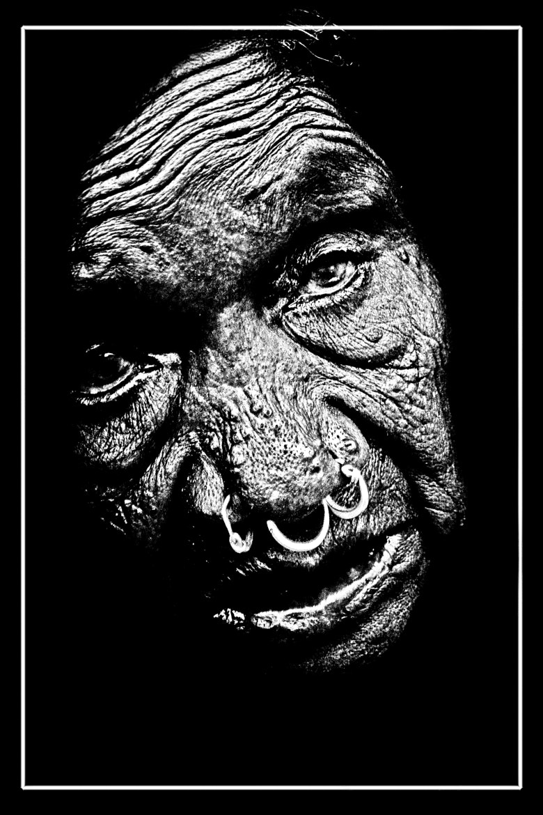 Photograph OLD TRIBE LADY by jitendra chowdary on 500px