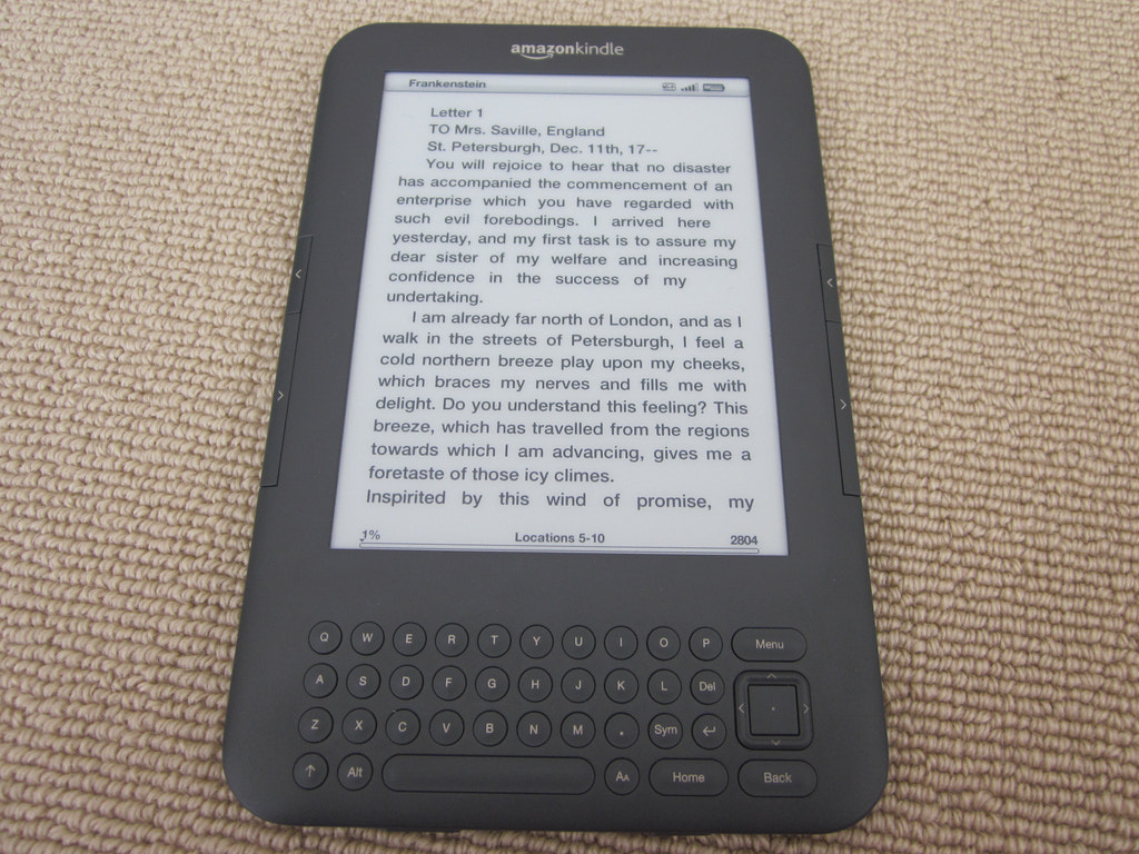 Photograph Kindle Keyboard 21 by Chris Southcott on 500px