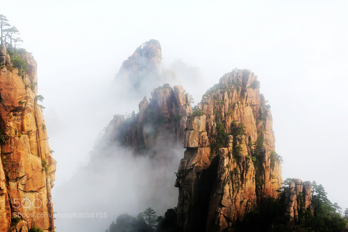 Photograph Huang shan MT by Zhu xiao ping on 500px