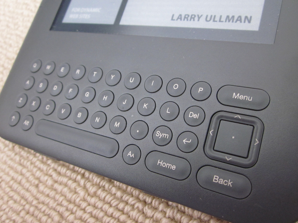 Photograph Kindle Keyboard 01 by Chris Southcott on 500px