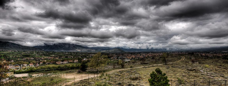 Photograph sulmona before the rain by Davide Romanelli on 500px
