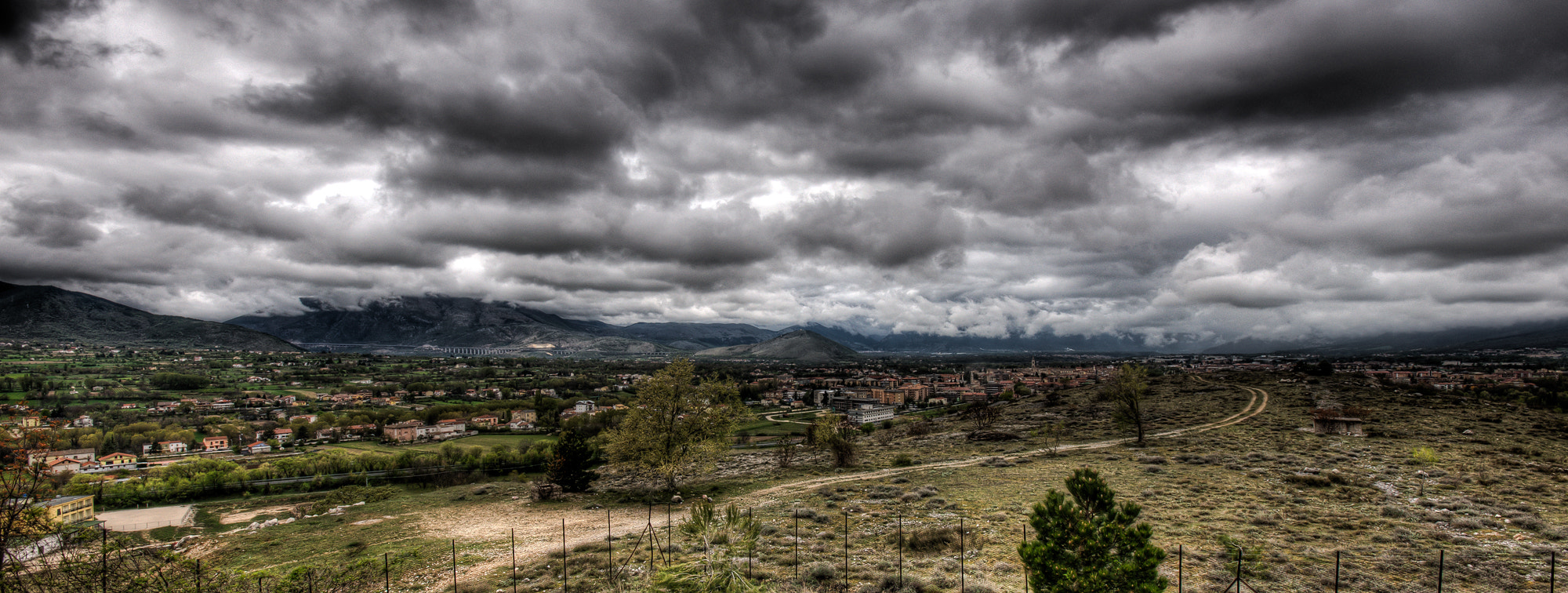Photograph sulmona before the rain by Davide Romanelli on 500px
