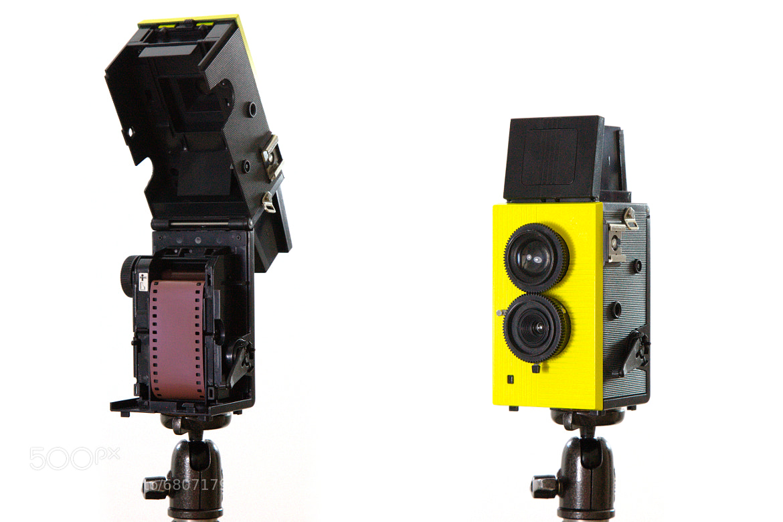 Photograph Blackbird Fly 35mm Lomography Film camera 'toy'. by Sam Cornwell on 500px