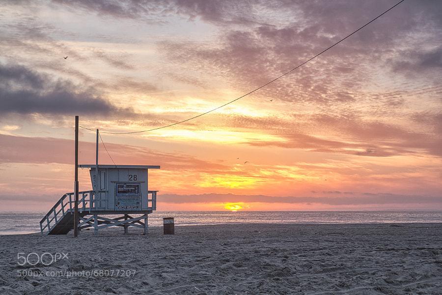 Photograph Beach Sunset | Venice Beach, LA, USA by Matthias Huber on 500px