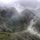 Постер, плакат: Mists in the Elbow of the Andes
