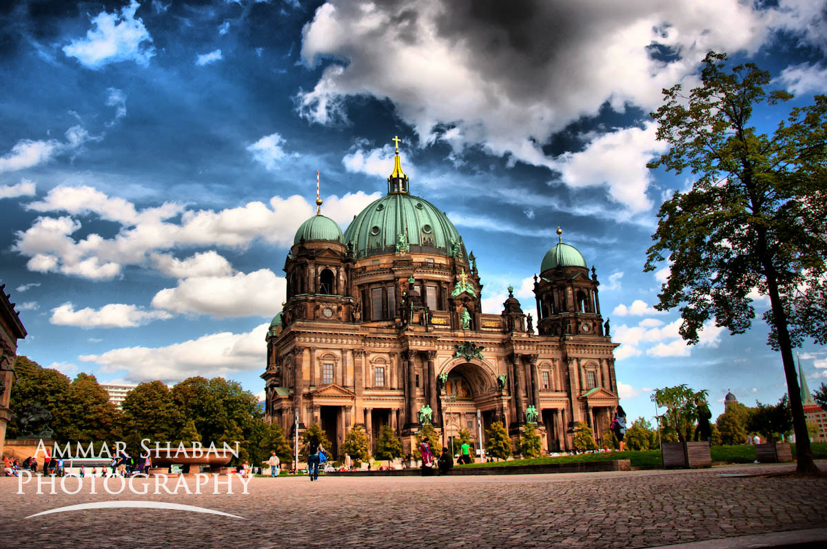 Photograph Berlin Cathedral in HDR by Ammar Shaban on 500px