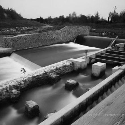 Dam Szentgotthárd / long expo
