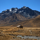 Постер, плакат: Views from the Andean Explorer Train travelling through the Ande