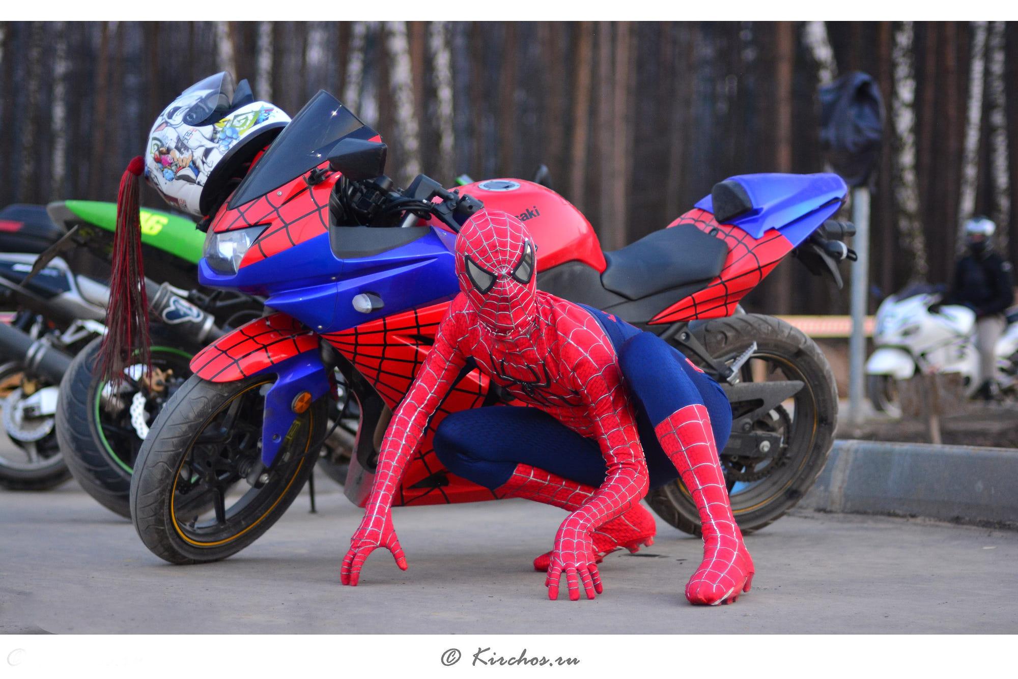 Spiderman moto by kirchos skv photo 68146209 500px - Spider man moto ...