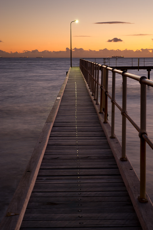 Photograph St Kilda Pier by Rowan Sims on 500px