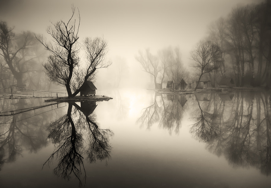 Photograph through the misty air II. by Adam Dobrovits on 500px