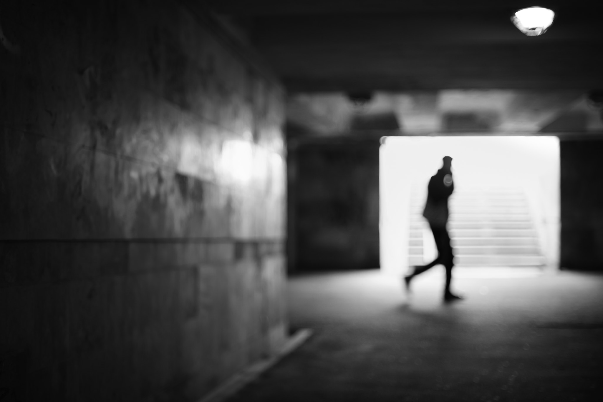 Photograph Underground Silhouette by Emil Edilersky on 500px